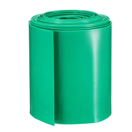 PVC Heat Shrink Tubing Tube 56mm Battery Wrap for AAA Battery 5M Green 100 Gauge Pvc Shrink Tubing