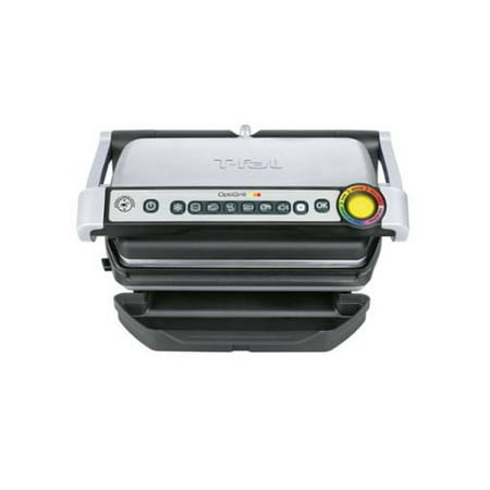 T-fal Opti Indoor Grill with Removable Plates & Precision Grilling Technology