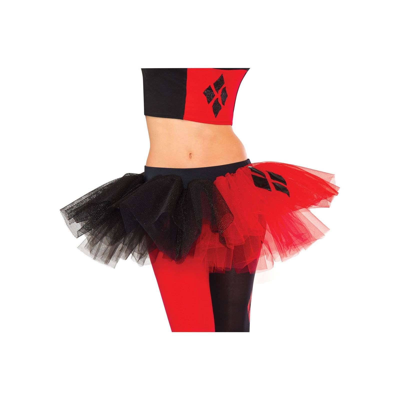 Harley Quinn Tutu Skirt Adult Womens Costume Accessory NEW Standard Size