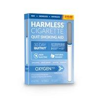 Harmless Cigarette,Oxygen,Nicorette Alternative & Quit Smoking Aid,3pk