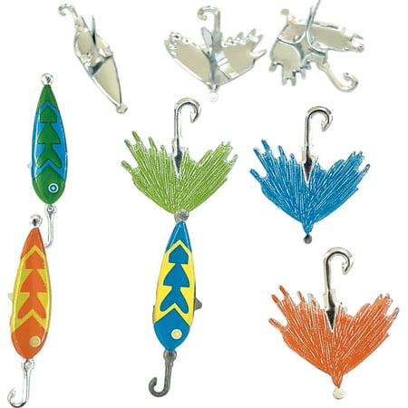Eyelet Outlet Shape Brads 12/Pkg-Fishing Lure - image 1 de 1