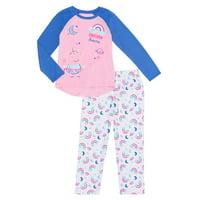 Peppa Pig Girl's 2-Piece Pajama Set (Little Girls & Big Girls)