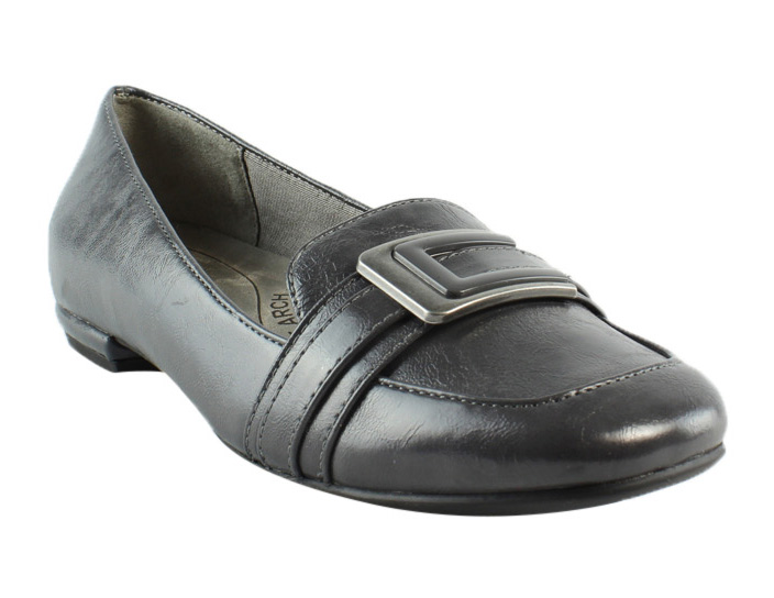 Lifestride Womens Gray Loafers & Moccasins Flats Size 5.5 New by LifeStride