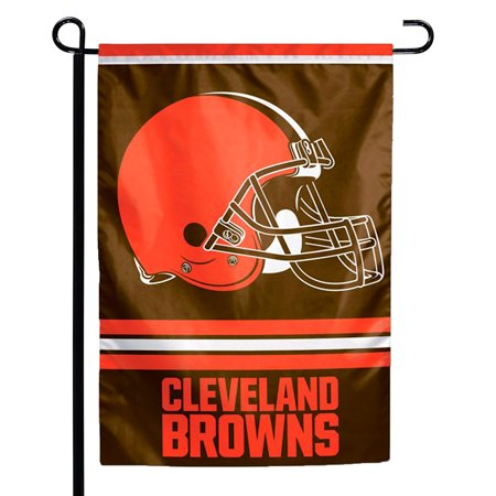 """Cleveland Browns WinCraft 12"""" x 18"""" Double-Sided Garden Flag - No Size"""
