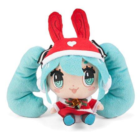Vocaloid Hatsune Miku X CuteRody Red Santa X-Mas Ver. Plush Toy](Santa Plush)