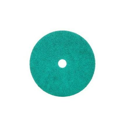 3M 01923 Green Corps 7 Inch x 7/8 Inch 24 Grit Fiber Disc,