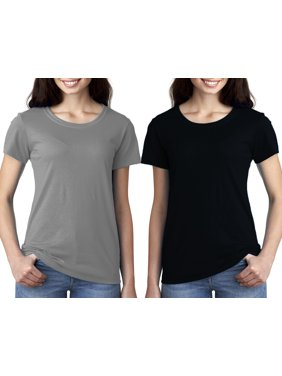 Women's Clementine Ideal Crewneck T-Shirt (Pack of 2)