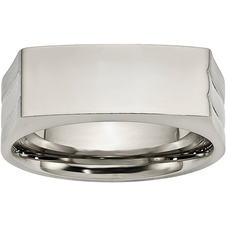 Primal Steel Stainless Steel Polished Ring