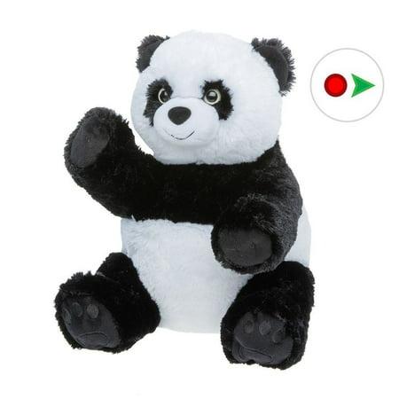 Record Your Own Plush 16 inch Stuffed Panda Bear - Ready To Love In A Few Easy Steps - Panda Bear Mascot