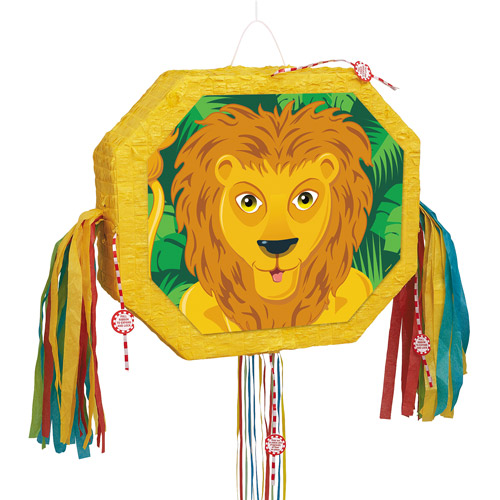 Lion Pinata, Pull String