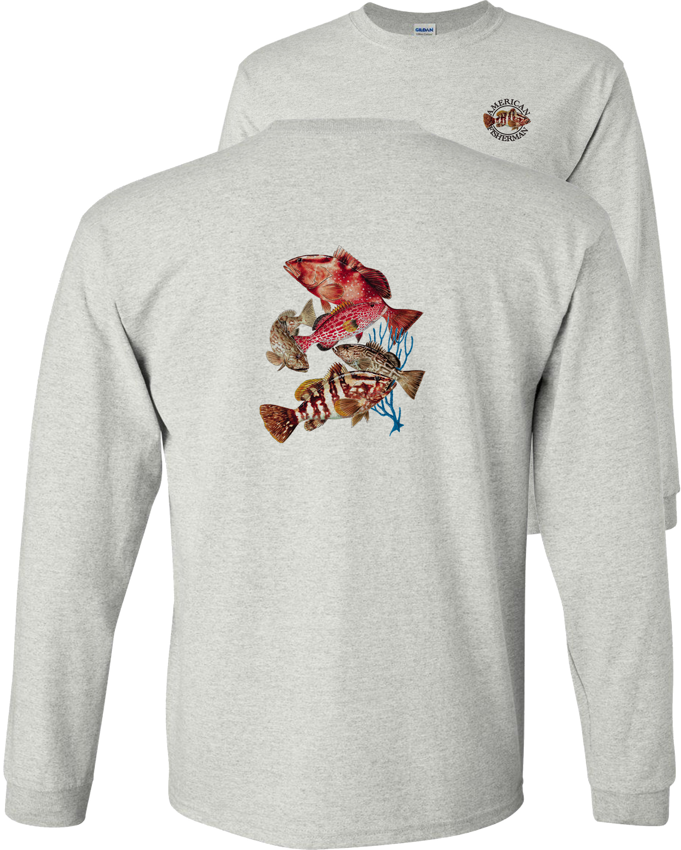 100/% Cotton Shark Theme New poly wrapped. Men/'s Long Sleeve Sweatshirt XL