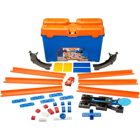 Hot Wheels Track Builder Stunt Box Playset