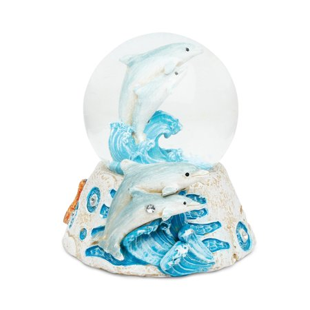 Stone Snow Globe - Dolphin](If I Lived In A Snowglobe)