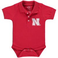 Nebraska Cornhuskers Infant Polo Bodysuit - Scarlet