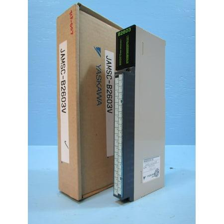 NEW Yaskawa JAMSC-B2603V PLC Input Module Memocon-SC JAMSCB2603 V In NIB