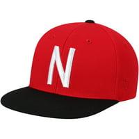 Nebraska Cornhuskers Top of the World Youth Maverick Snapback Adjustable Hat - Scarlet - OSFA