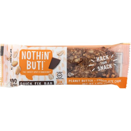 1.4 Ounce Bars - Nothin But, Chocolate Peanut Butter Snack Bar, 1.4 Oz, 12 Ct