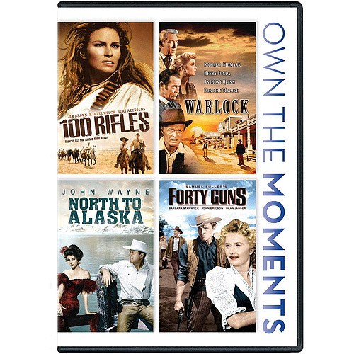 100 Rifles / Warlock / North To Alaska / Forty Guns (Widescreen)