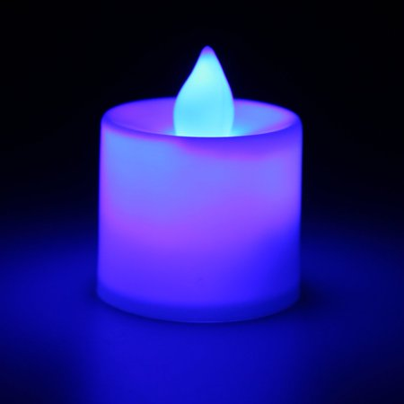 Superior Romance LED Flash Flameless Candle Light Lamp for Birthday Dinner Spa Party Pub Room Decoration - image 4 of 7