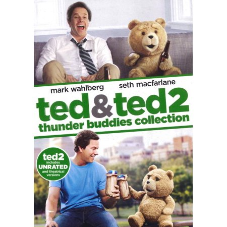 Ted 1 & 2: Thunder Buddies Collection (DVD)