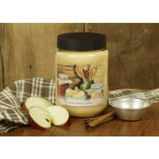 LANG Pear Apple Crisp 26-Ounce Jar Candle, Scented with a Mix of Baked Pear, Apple, Honey and Spice