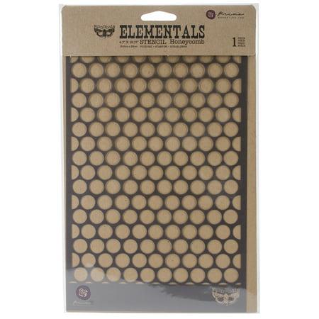 6.5X10.25 STENCILHONEYCOMB (Honeycomb Stencil)