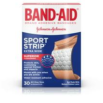 Bandages & Gauze: Band-Aid Sport Strip