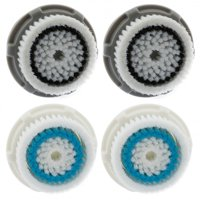 2 Deep Pore 2 Normal Skin Replacement Facial Cleansing Brush Head for Clarisonic