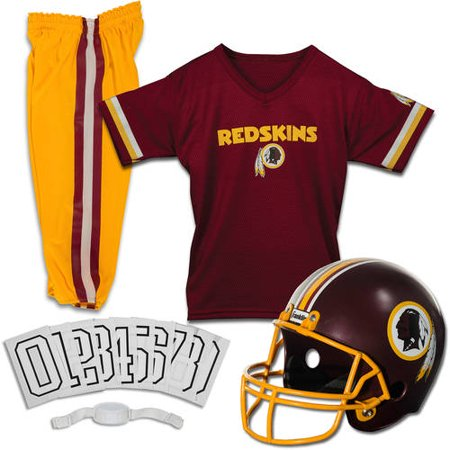 Franklin Sports NFL Washington Redskins Youth Licensed Deluxe Uniform Set, Small