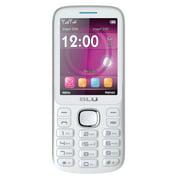 BLU Jenny TV 2.8 T276T Unlocked GSM Dual-SIM Cell Phone - White/Blue