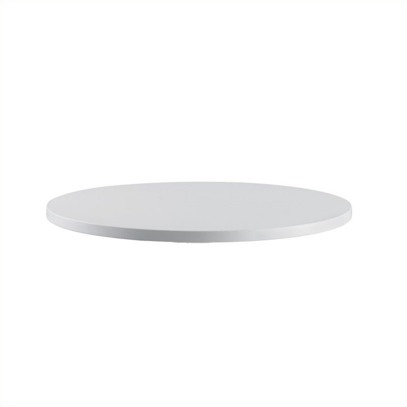 Safco Rsvp Round Table Top In Gray 36 Inch Diameter