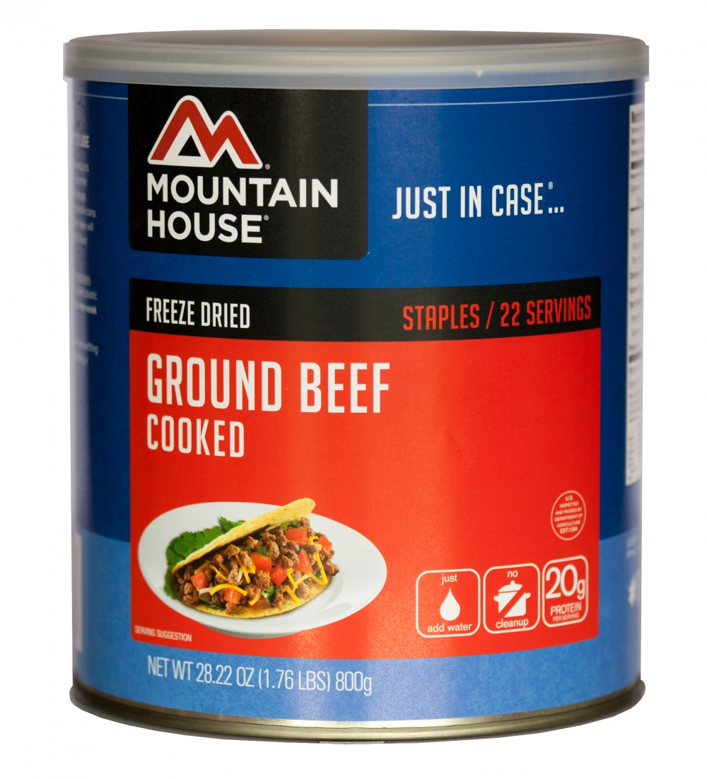 Mountain House (6 Pack) Ground Beef #10 Can by Mountain House