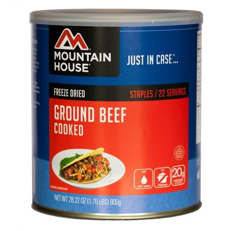 1 Lb Ground Beef Recipes - Mountain House - (6 Pack) Ground Beef - #10 Can