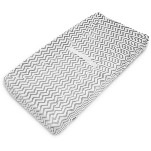 TL Care Heavenly Soft Chenille Fitted Contoured Changing Pad Cover for Boys and Girls 3015-CH Chocolate