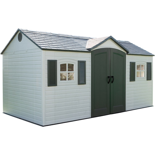 Lifetime Side Entry Shed, 15' x 8'
