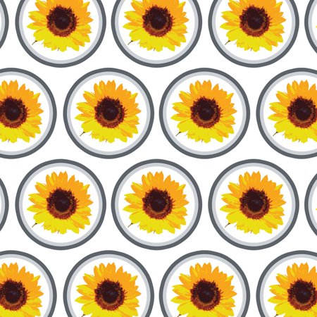 Sunflower Shower Premium Gift Wrap Wrapping Paper -