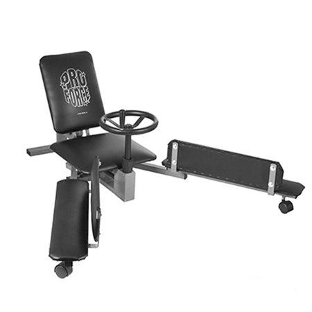 ProForce Stretchmaster Leg Stretching Machine 8408