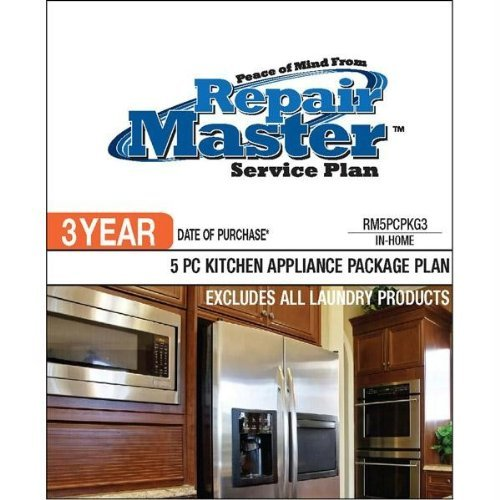 Repair Master  3-Yr Date of Purchase - 5-Piece Kitchen Appliance Package