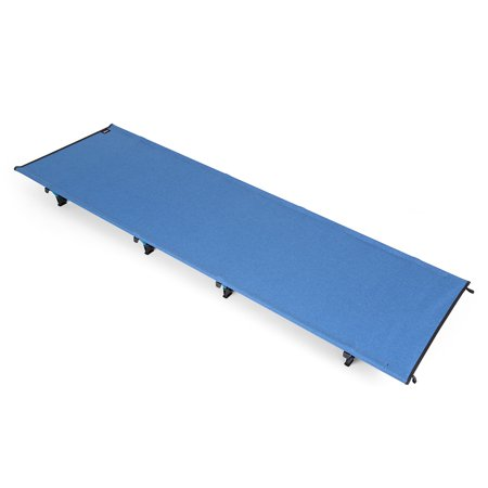 Portable Off-Ground Folding Cot Bed Outdoor Lightweight Camping Sleeping Bed Water Resistanst Moisture-proof Camping Tent Mat 440lb Capacity for Backpacking