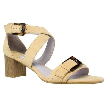 Johnston & Murphy Womens Katarina Latte Sandals Size 8.5