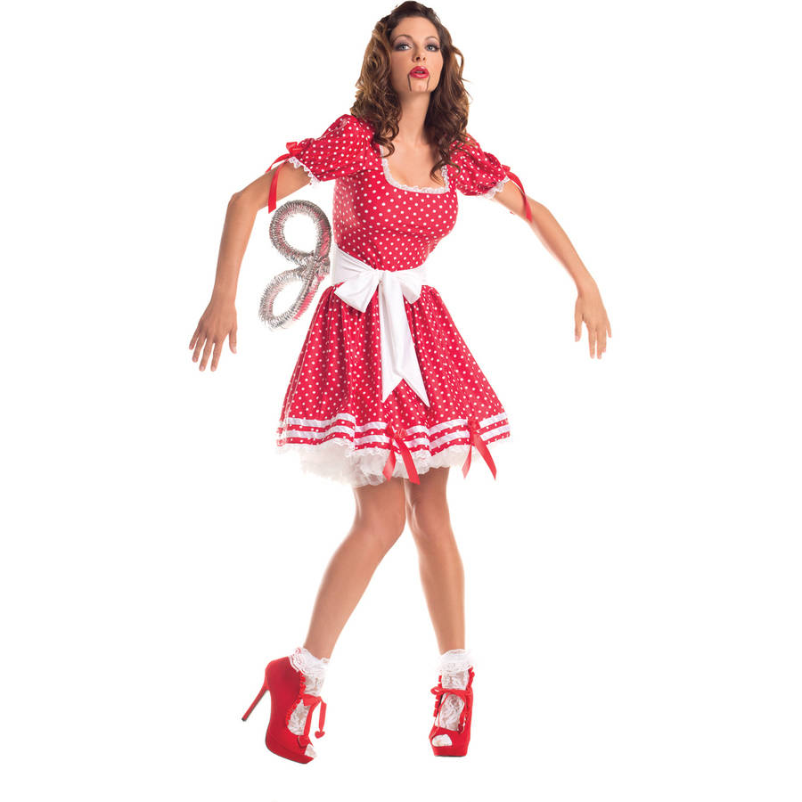 Wind Up Doll Adult Costume - X-Large