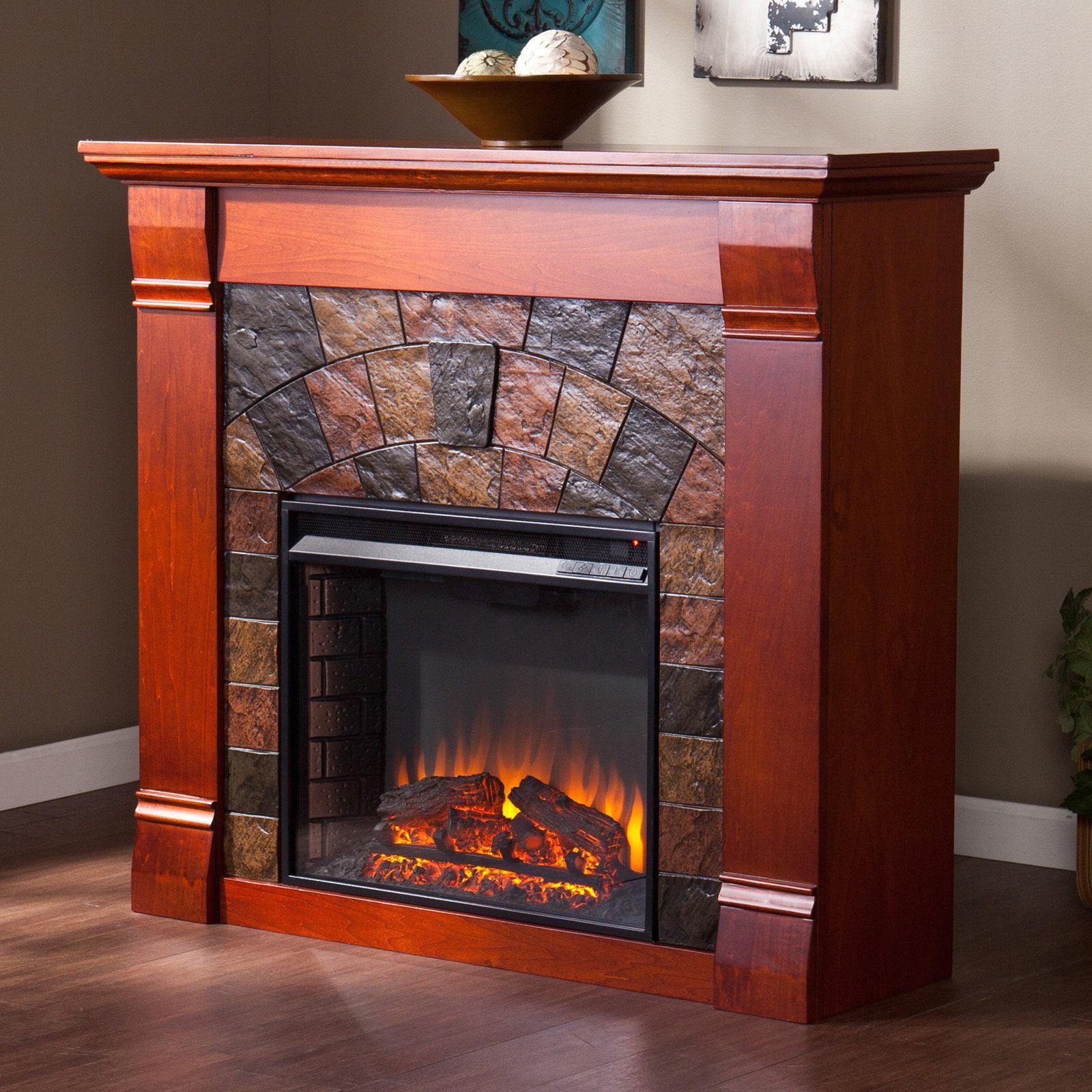 Southern Enterprises Elkmont Electric Fireplace Walmart Com