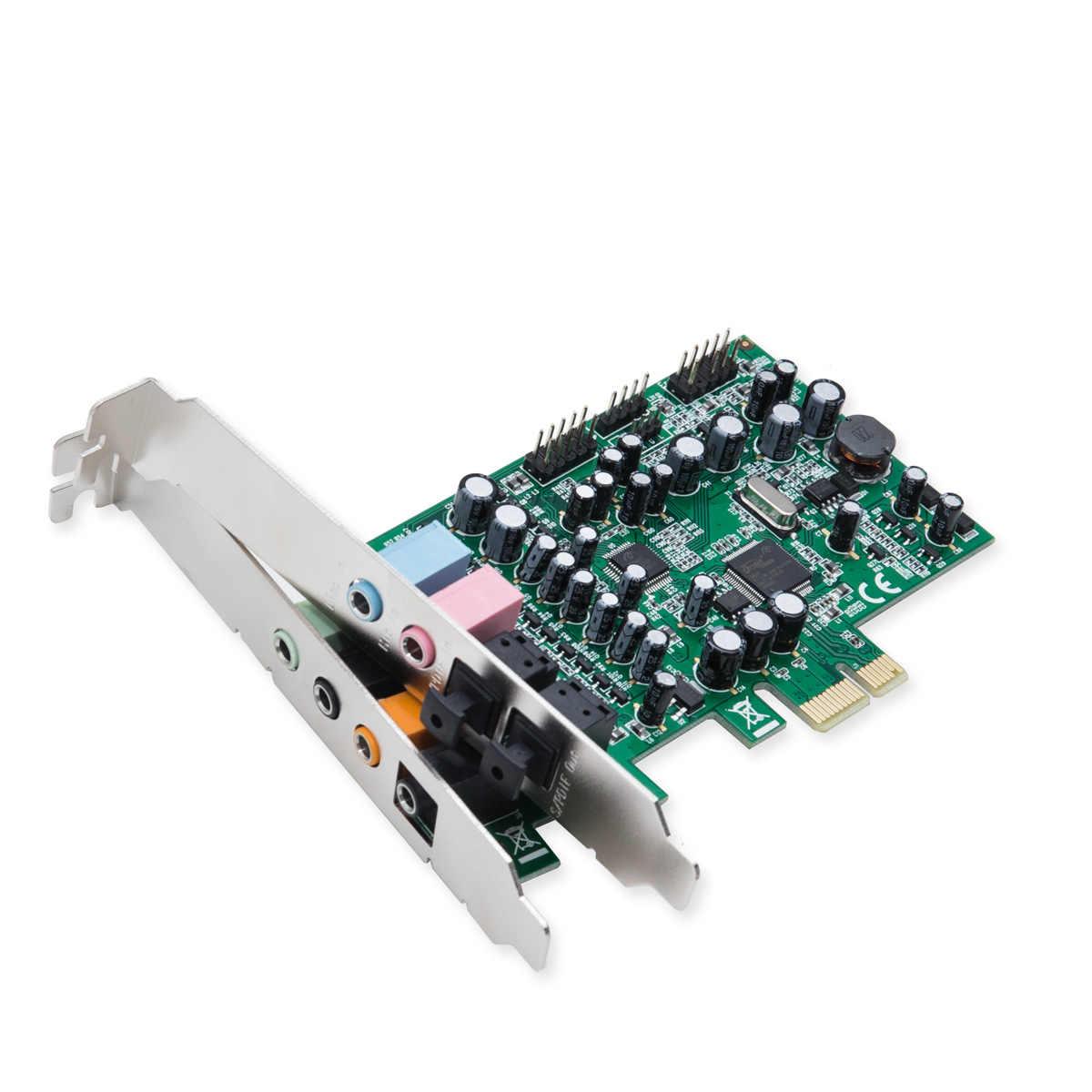 7.1 Surround Sound PCI-e Sound Card, S/PDIF In and Out