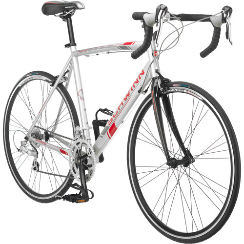 700c Schwinn Phocus 1600 Men's Road Bike, Silver
