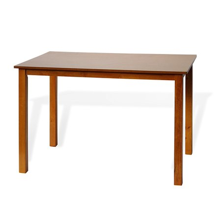 SK New Interiors Dining Kitchen Rectangular Classic Table Solid Wooden Modern, Maple - Maple Rectangular Table