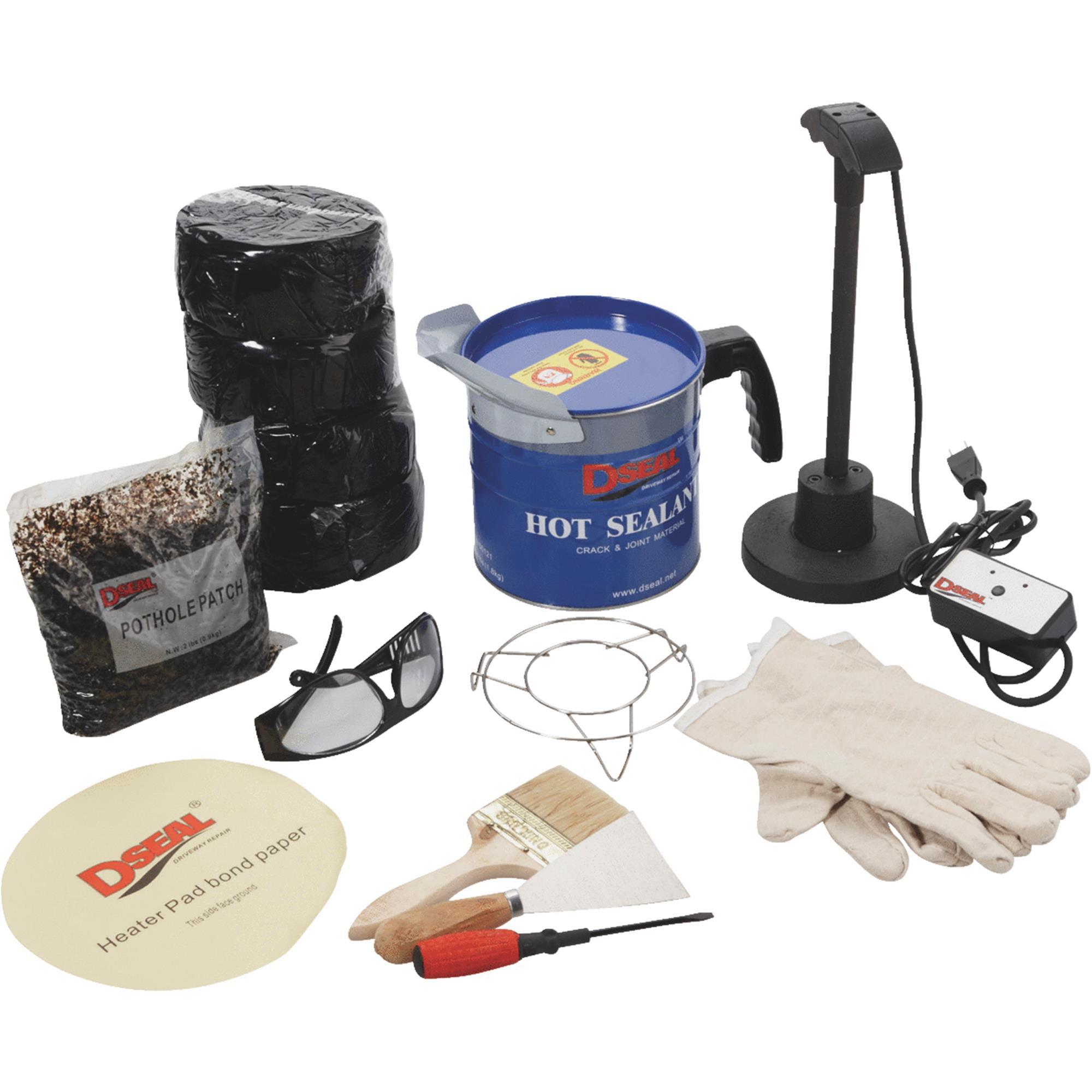 DSeal Driveway Repair Blacktop Crack Repair Kit