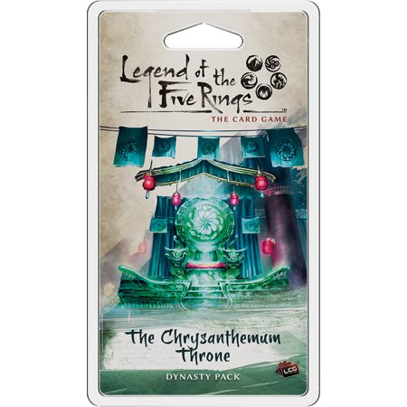 Fantasy Flight Legend of the Five Rings Living Card Game: The Chrysanthemum Throne Dynasty