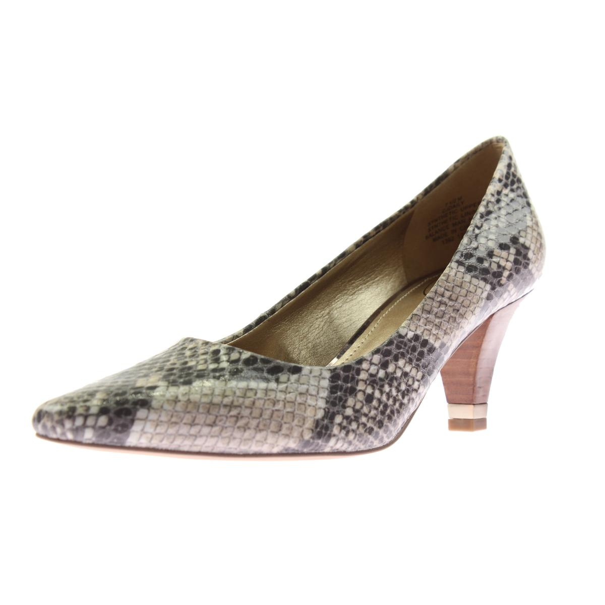 Circa Joan & David Womens Daily Snake Print Stacked heel ...