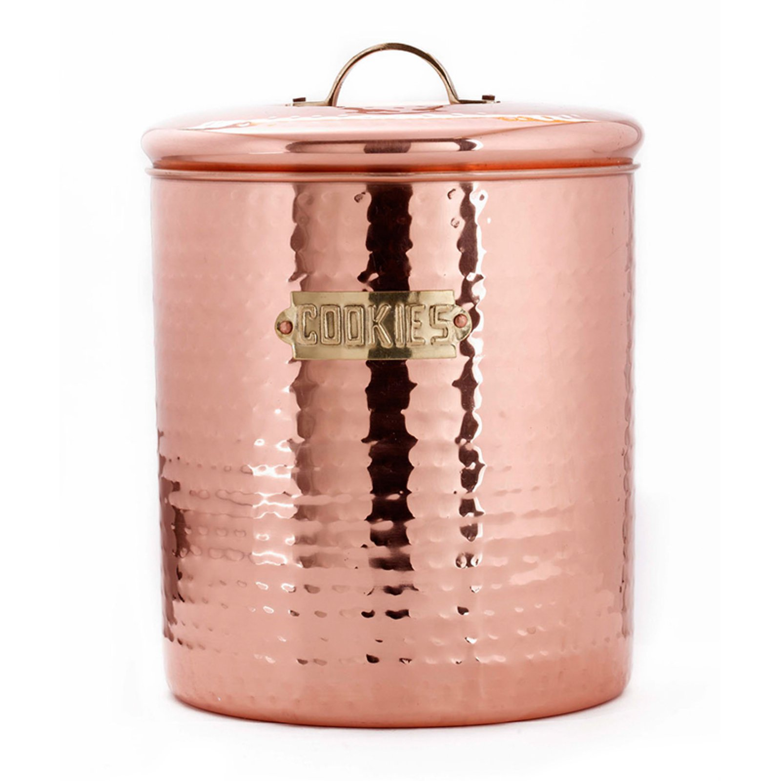 Click here to buy Copper Cookie Jar by Old Dutch International.