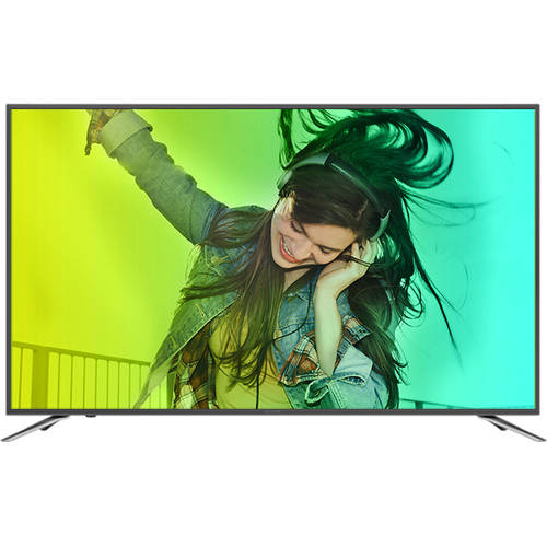 "Refurbished Sharp 55"" Class 4K (2160P) Smart LED LED TV (LC-55N620CU) by Sharp"